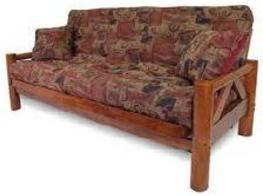 Pondorosa Is A Beefy Solid Wood Futon Frame Available In Full And Queen It Comes Size Also Three Position